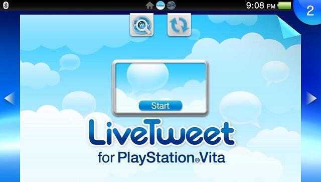 PS Vita Twitter Live Tweet Booya Gadget Best