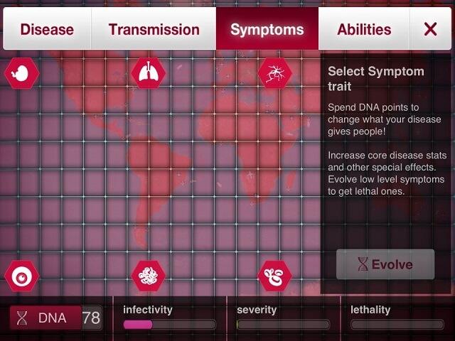 Plague Inc Fungus iPad iPhone Initial Symptoms