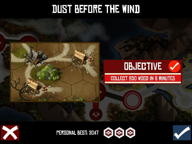 Dust Before the Wind Collect 950 Wood in 8 Minutes Total War