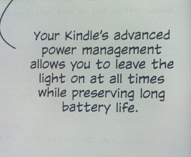 Kindle Paperwhite Battery Life Power Management Booya Gadget Review