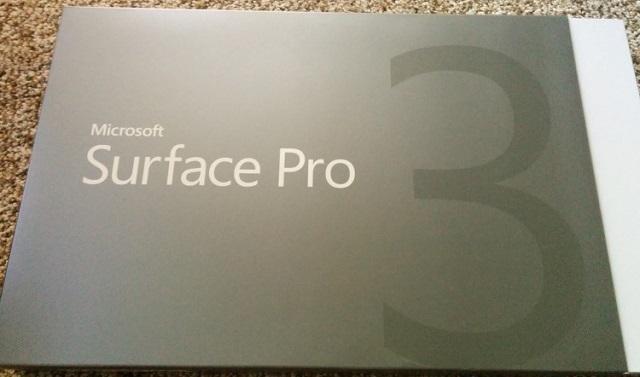 Surface Pro 3 Screenshot